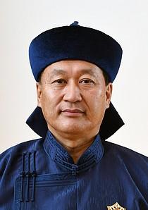 botschafter der mongolei ganbat damba
